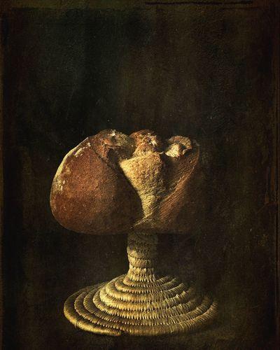 What I Value Hello World Pan Bodegones Morille Salamanca Luz Y Sombra  Bread Art