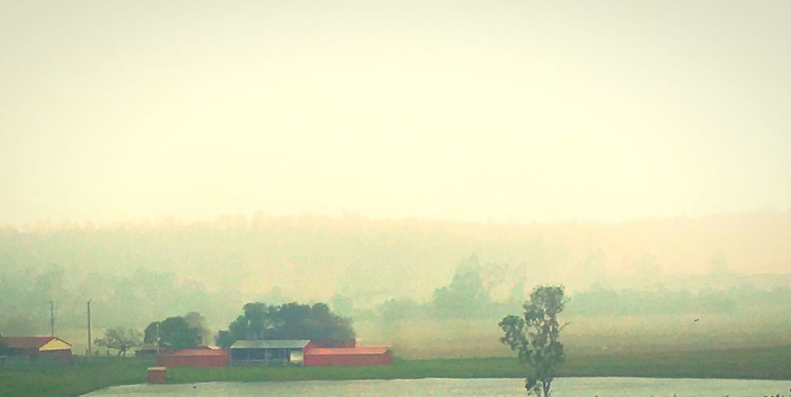 Rainy day at the farm Queensland Farm Barn Rain Rainy Days Landscape Weather Tranquility Tranquil Scene Pluviophile