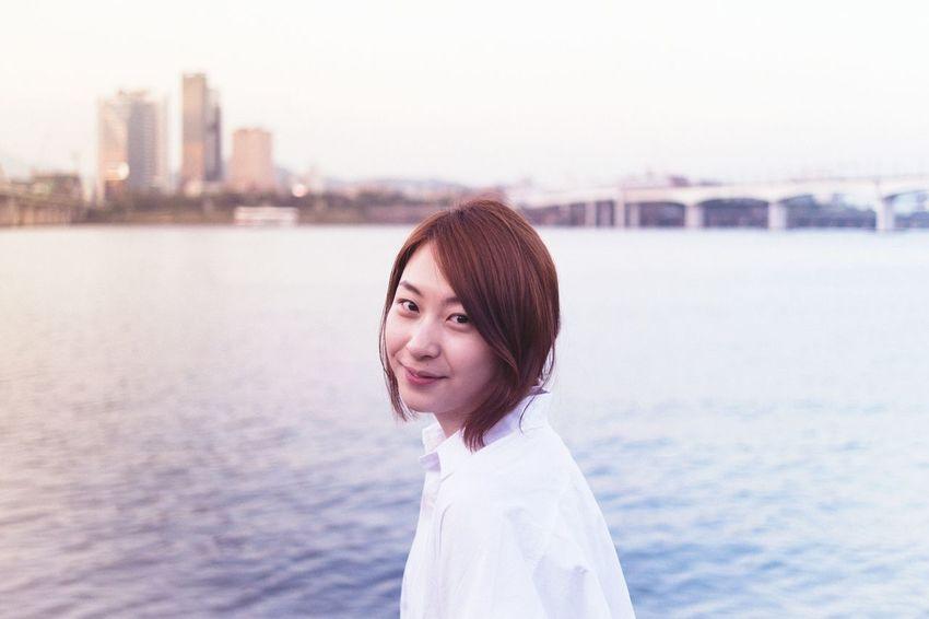 Riverside Scenery Faces Of EyeEm Beauty Portrait Portrait Of A Friend Pretty Eye4photography  EyeEm Best Shots EyeEm Korea