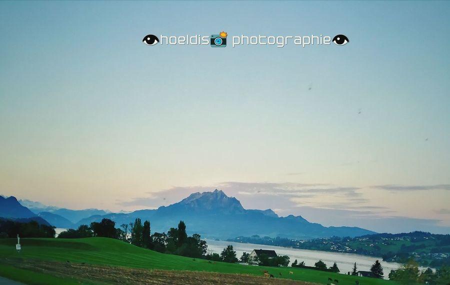 Mountain Pilatus Mt. Morningwalk Vierwaldstättersee Switzerlandpictures Huawei Photography Huawei Mate 9 No People Multi Colored Outdoors Nature