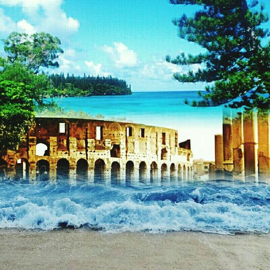 MARE NEW CALEDONIA COLOSSEO SPIAGGIA ITALY