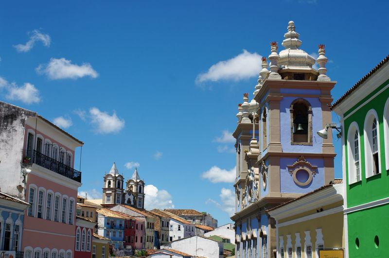 One of the most famous view of salvador de bahia and its pelourinho