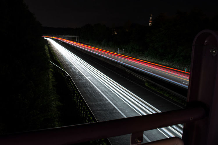 Austria Autobahn Car Lights Long Exposure Long Exposure Night Photography Long Exposure Shot Red Light Westautobahn Need For Speed