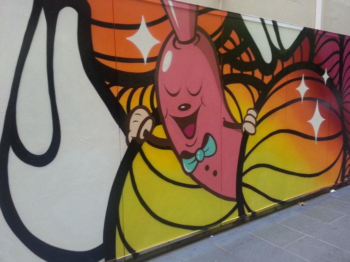 Graffiti Streetart Awesome Dabs Myla & Insa