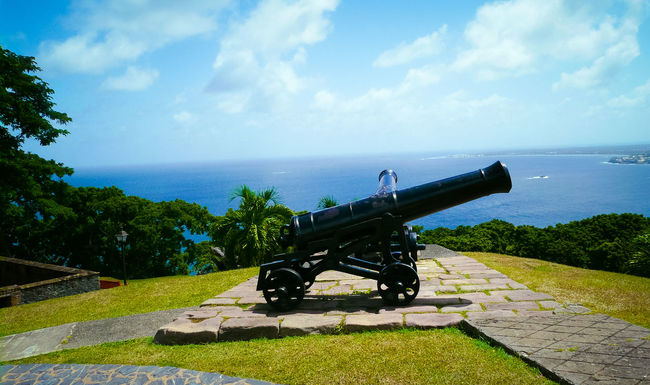 Cannon Canon Fort George History Military Scarbrough Tobago War Weapon