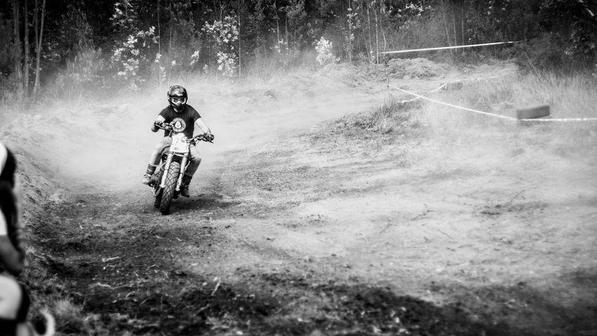 Dusty Track Helmet Motorcycle Motorcycles Nasmgraphia Monochrome Photography