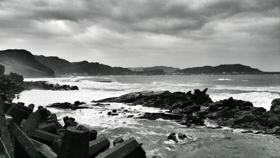 Life Is A Beach Nature_collection Landscape_Collection Blackandwhite