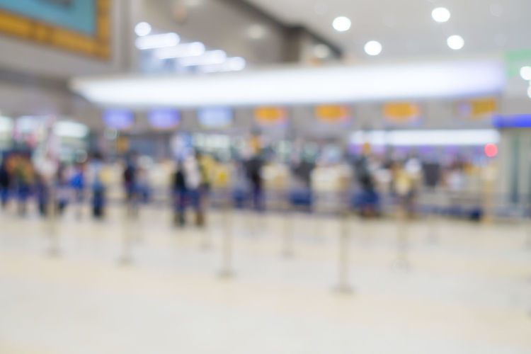 Airline Counter Counter Blurred Check-in Transportation Airport Blur Travel,