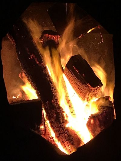 Camp fire. Lorne. Victoria. Australia Fire Burning Heat - Temperature Flame Fire - Natural Phenomenon Firewood Log Nature Close-up No People Motion Wood Wood - Material Night Orange Color Glowing Fireplace High Angle View Bonfire Fire Pit Australia Camp Fire Camp Fire Flames