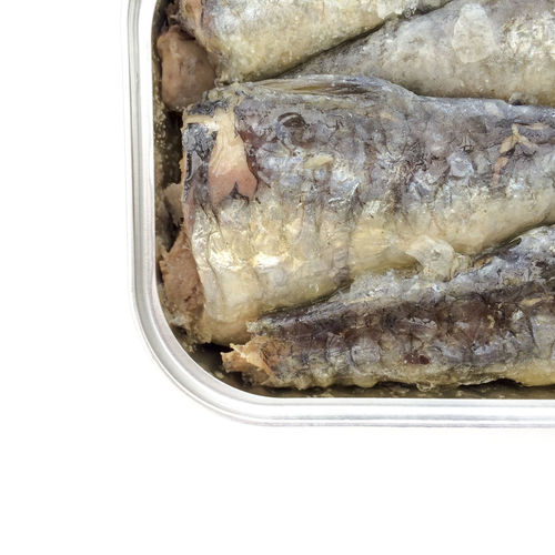 Abstract of sardines in a tin Abstract Can Fish Food Food And Drink Healthy Eating Healthy Food Healthy Lifestyle Meal Omega 3 Omega 3 Fatty Acids Omega 3 Oils Organic Packed Ready-to-eat Sardine Sardines Sea Food Seafoods Squashed Still Life Tin Tinned