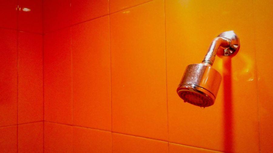 Shower Head On Wall