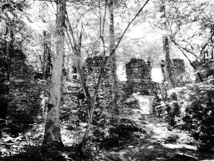 Untitled Marietta, Georgia Chattahoochee National Forest Sope Creek Paper Mill Ruins Architecture 19th Century Buildings Southern Life Southeastern Georgia Civil War