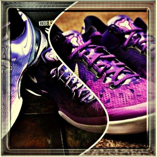 ..you'll be mine soon Kobe 8 Purple Gradient.