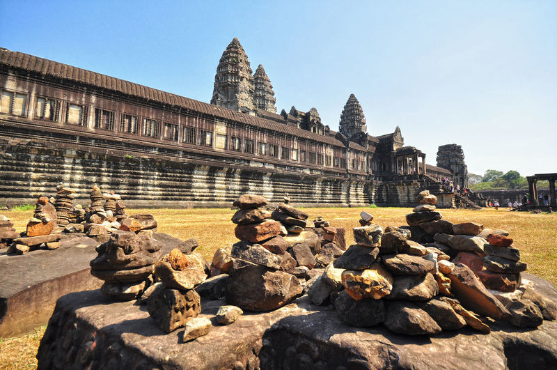 Old Temple From Cambodia