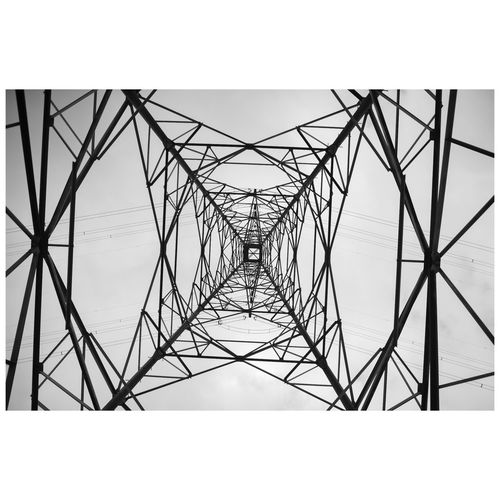 Girder Golf Club Technology Electricity Pylon Symmetry Steel Electricity  Cable Construction Frame Pattern Electric Pole Power Cable High Voltage Sign Multiple Image Power Line  Image Montage Oxfordshire Montage Digitally Generated Fuse Box Triangle Shape Fuel And Power Generation Electrical Grid Telephone Pole Geometric Shape Telephone Line Transfer Print Frame Power Supply