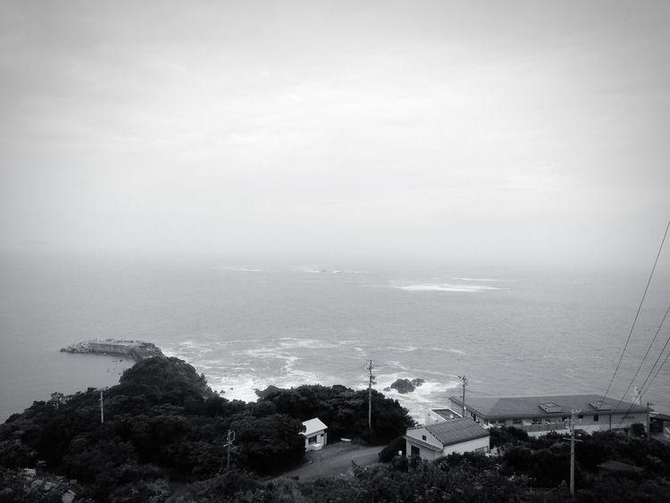 目の前が海の部屋に泊まる。 Sea Japan Ise Toba