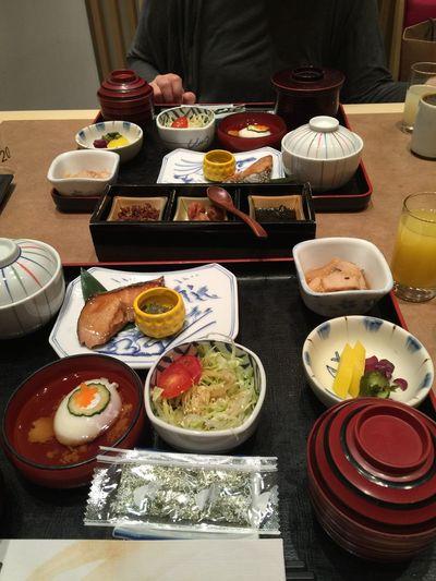 Breakfast Fortwo Japanese Food Yummy Foodporn