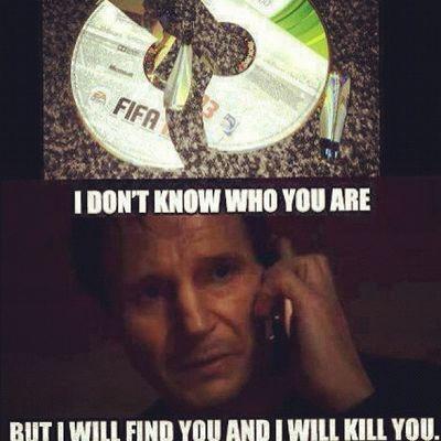 Fifa_13 Funny Ps3 Xbox_360 jokes taken kill_you instacanvas ic inst ea fifa13