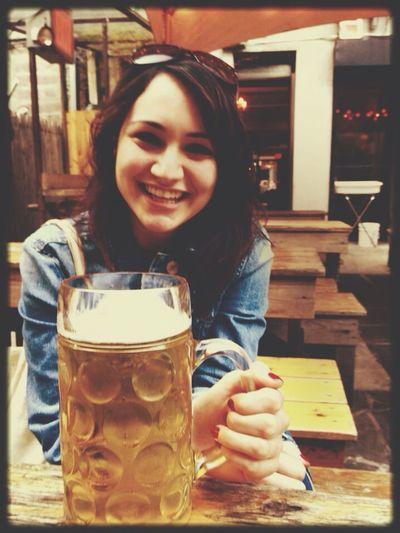 Just enjoying a lieter of beer? Craft Beer Backyard
