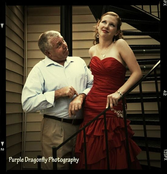 Priceless Moment  with my daughter; the love of my life, Prom Pictures