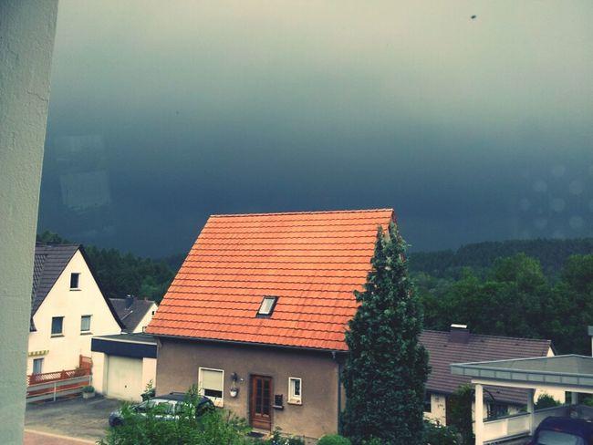 Spooky Atmosphere Gewitter Scary Sky