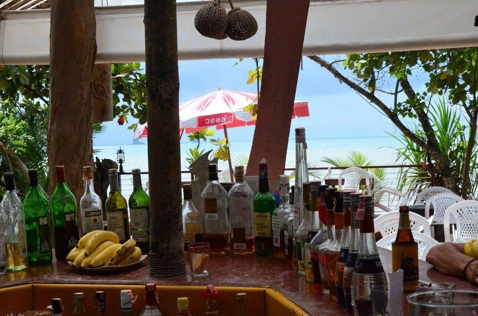 Bar By The Sea Bar Scene Beach Thailand