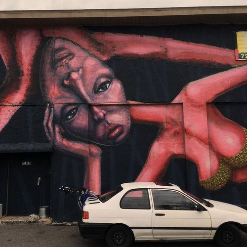 Art Florida Graffiti Iphonephil Murals Saint Petersburg Florida