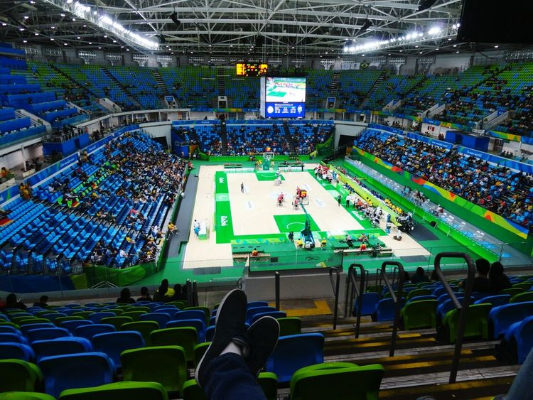 The Color Of Sport Paralimpic Games Rio2016 Basketball Wheelchairbasketball Out Of The Box