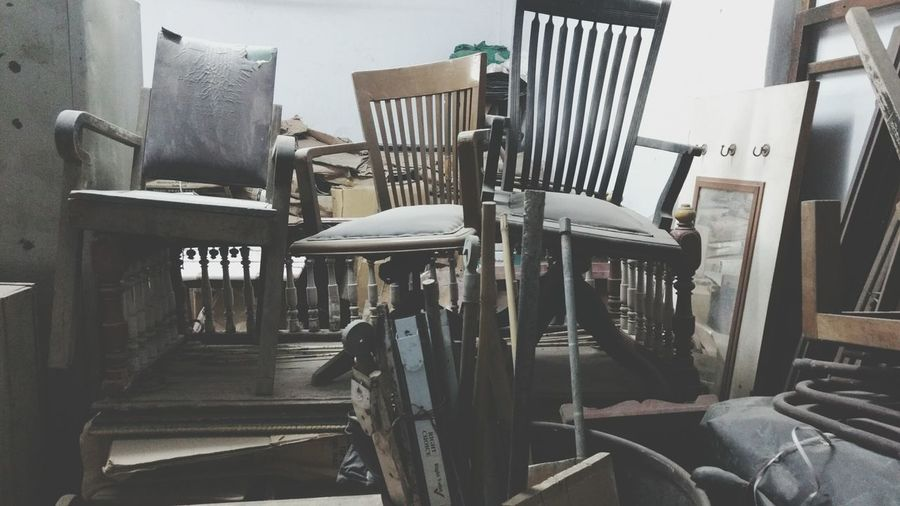 Vintage Photography Scrapped Chair 12daysofeyeem No People Outdoors Ahmedabaddiaries Oldtime Chance Encounters
