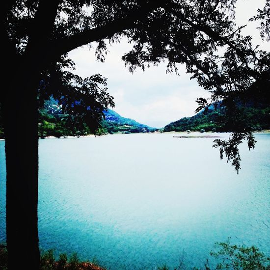 Lago Del Turano Italy Lake Relax Calm Tranquility Nature_collection