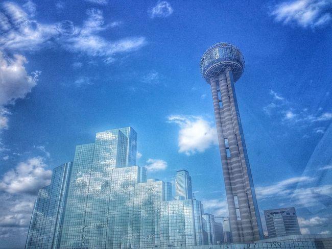 D-Town.... Skyscraper Architecture Sky Built Structure Illuminated Cityscape Hdr_pics