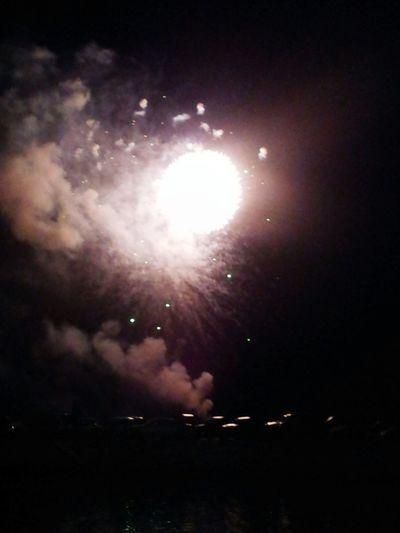 Nightphotography Fireworks Night Sky