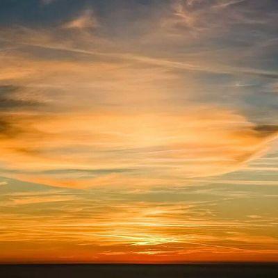 Sun Sole Sunsets Sunset tramonti tramonto sea mare wonder wonderfull meraviglia meraviglioso sera evening italy italia autunno toscana tuscany piandellafioba