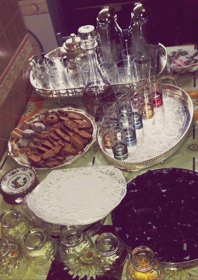 Evening Préparatifs Celebrating Kitchen