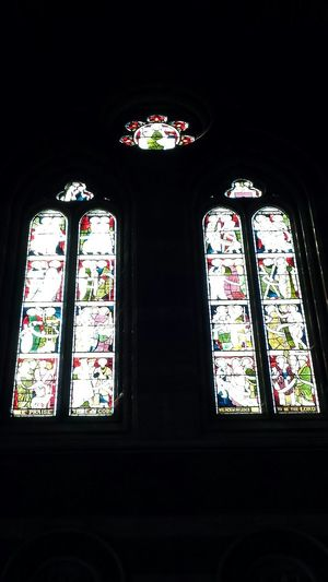 Church Window Interior Glass