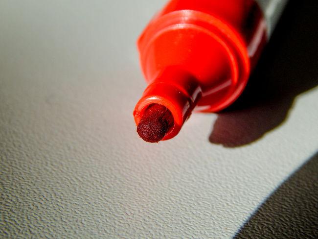 Close-up Day Edding Filz Flichart Indoors  Marker No People Pen Red Stift Textmarker Textured