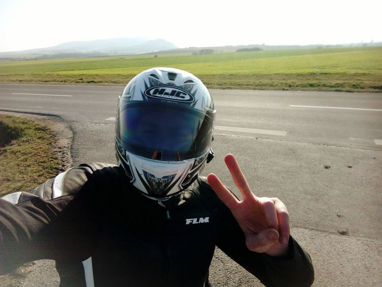 Greetings from my Last ride One Person One Man Only Real People Headwear Human Hand Outdoors Motorcycle Lifestyle Sportbike Motorcycle Lifestyle Motorbike Riding My Motorcycle GERMANY🇩🇪DEUTSCHERLAND@ Excitement Life Happiness Enjoying Life Enjoyment Leisure Activity Vacations Sunlight Carefree Nature Young Adult Only Men