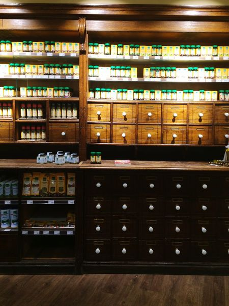 Spices Hot Spices Drugs Wooden Cabinet Cabinet Wooden Interior Design Interiors Vintage Things Organized Neatly