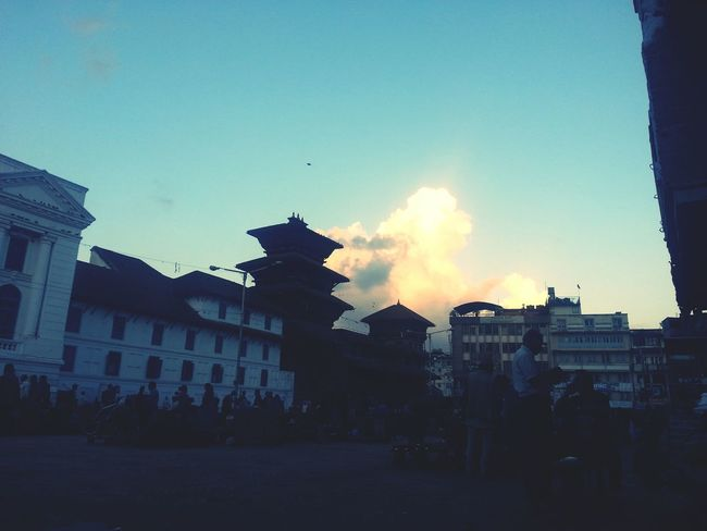 Clouds And Sky Sunset Cloudporn Durbar Square