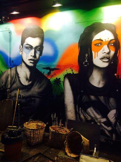 Looks like me? J-love street art