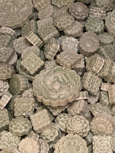 Full Frame Backgrounds Large Group Of Objects Close-up Indoors  No People High Angle View Still Life Abundance Pattern Textured  Design Shape
