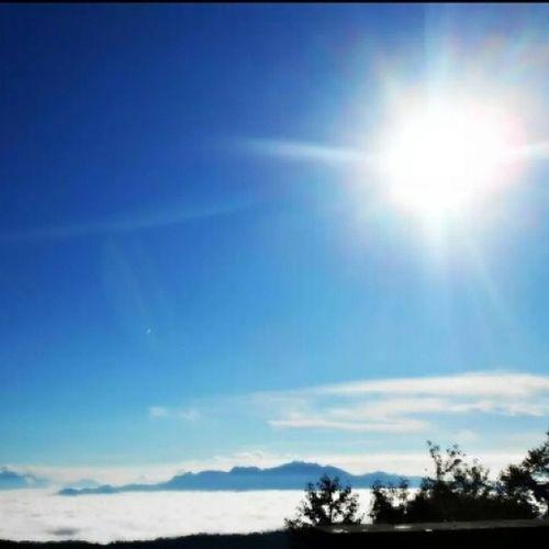 Nofilters Sun Roccamonfina Lattani incredible amazing breathless lowclouds