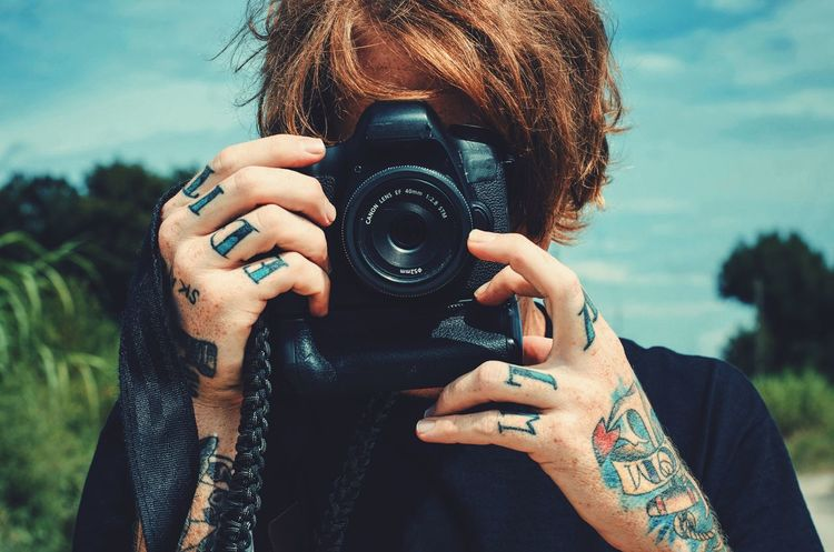 Directional. People VSCO Portrait People Photography Camera Passion Art Man Photographer Fun Cheese! Portrait Of A Friend Portrait Of America Portrait Of A Man  Tattoo Tatoos