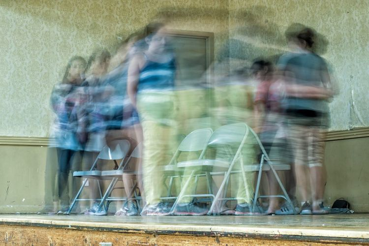 Mix Yourself A Good Time Blurred Motion Group Of People People Musical Chairs Game EyeEm Ready   Visual Creativity Visual Creativity
