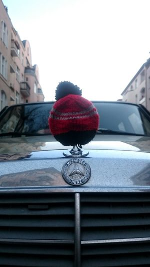 Winter Car Warm Clothing Mercedes-Benz The Small Things Red Christmastime
