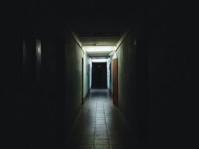 It feels Likeim in the MOVIEand someone trying to kill me haha Darkness And Light Dark Door Light