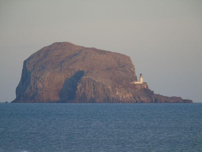 Bass Rock ~ North Berwick. Lighthouse Tower Scotland Bass Rock Sea View Seaside Winter Mountain Day No People Sky Travel Destinations Waterfront