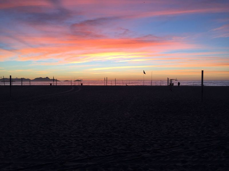 As Cores Do Verão Carioca Beach Sky Nature Cloud - Sky
