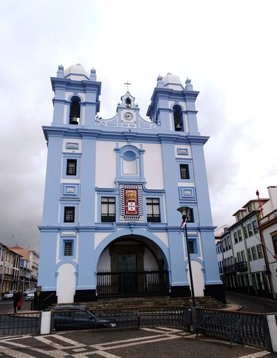 Building Exterior Cityscape Azores Architecture_collection Tourist Attraction  City Sky Architecture Building Exterior