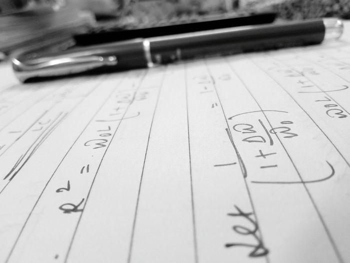 Mightier than the sword... Paper Education No People Indoors  Close-up Formula Day Simple Photography NoPeopleAround One Person Best Of EyeEm EyeEmBestPics EyeEm Gallery Illuminated Physics Physicsproblems Bestofblackandwhite Blackandwhite Beautiful ♥ ExamStress Pen Mightierthanthesword Stationerylove Studies